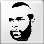 The Stencil Studio Famous Faces Range - Mr T Reusable Stencil - Size A5