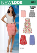 New Look Sewing Pattern - Misses' Skirts Sizes