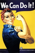 We Can Do It - Maxi Poster - 61 cm x 91.5 cm