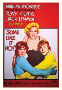 Empire 392336 Poster Marilyn Monroe / Some Like it Hot / XXL Dimensions 68 x 98 cm