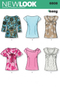 New Look Sewing Pattern - Misses Tops Sizes