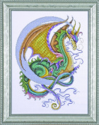 Cross stitch - Design Works Crafts - Celestial Dragon