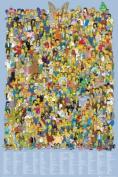 The Simpsons Cast 2012 Maxi Poster 61x91.5cm