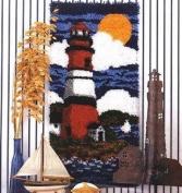 Lighthouse Latch Hook Rug Kit - Latch Hook Kit