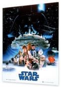 GB eye 3D Poster, Star Wars, Empire Strikes Back, 47 x 67cm