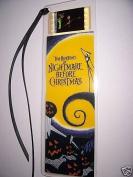 NIGHTMARE BEFORE CHRISTMAS Tim Burton Movie Film Cell Bookmark