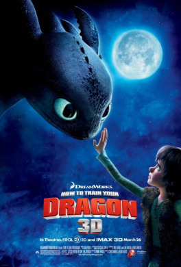 HOW TO TRAIN YOUR DRAGON MOVIE POSTER PRINT APPROX SIZE 30cm X 20cm
