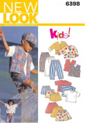 New Look Sewing Pattern - Child Separates Sizes