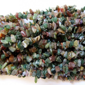 "Pretty Pebbles Beads - 36"" Indian Agate Chip Beads 5mm - 8mm"