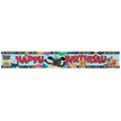 Amscan 4.65 m Timmy Time Foil Banner