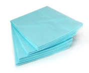 Tattoo Supplies THICK 3ply Dental BIBS SHEETS 33cm x43cm 125-PACK Blue -Tattoo Supply-