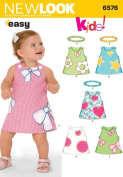 New Look Sewing Pattern - Babies Dresses Sizes