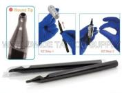 EZ 14 ROUND Disposable Tubes Black Sterilised 50pcs/Box Tattoo Supply