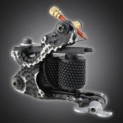 Pro Tattoo Machine Gun for Liner Shader Custom Dual 10-wrap Coils Supply Set