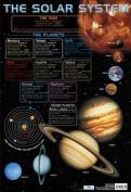 The Solar System Educational Poster 40x60cm