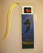 LITTLE MERMAID Disney Movie Memorabilia Film Cell Bookmark