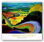 Garrowby Hill by David Hockney Art Print Poster