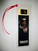 THE TERMINATOR Arnold Schwarzenegger Movie Memorabilia Film Cell Bookmark