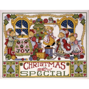 Christmas Is Sew Special Counted Cross Stitch Kit-28cm x 36cm 14 Count