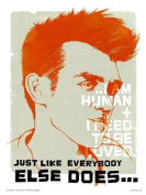 THE SMITHS - MORRISSEY POSTER PRINT by SIMON WALKER