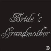Rhinestone Diamante Crystal Iron On T Shirt Design Transfer - WEDDING BRIDES GRANDMOTHER