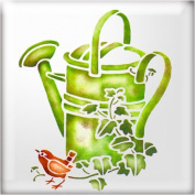 The Stencil Studio Watering Can Reusable Stencil - A4 Size