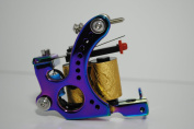 Premium Copper Wire Coils Tattoo Machine Liner & Shader, Blue, OTW-M302-5
