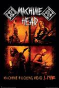 Machine Head - Live Art Print Poster