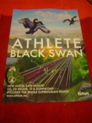 ATHLETE BLACK SWAN 28 X 20 approx INCHES POSTER