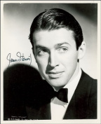 JAMES STEWART AUTOGRAPH GLOSSY PHOTO PRINT