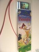 BAMBI Disney Rare Memorabilia Movie Film Cell Bookmark