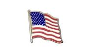 USA Flag, american Flag Lapel Pin Badge, 1.9cm x 1.9cm , MaxFlags®
