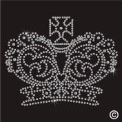 Rhinestone Diamante Crystal Iron On T Shirt Design Transfer - Crown Royal
