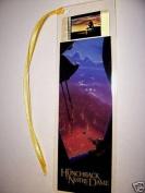 HUNCHBACK OF NOTRE DAME Disney Movie Memorabilia Film Cell Bookmark