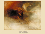 J.M.W TURNER Death on a pale horse c1825 250gsm ART CARD Gloss A3 Reproduction Poster