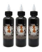 Kokkai Sumi Grey Wash System 3-pack Tattoo Ink Supply -Tattoo Supplies-
