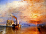 The Fighting 'Temeraire' tugged to her last Berth by Joseph Mallord William Turner Giclee Print 470 x 330 mm