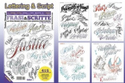 LETTERING & SCRIPT Writing Design Tattoo Flash Book 66-pages