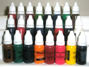 Iron Sakura Tattoo INK Pigment High Quality 24 Colours 15ml or 1/2oz Each 24 inks
