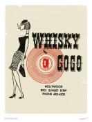 Whiskey a Go Go - Vintage Pop Art Poster Print
