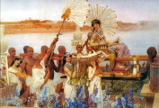 The Finding of Moses by Alma Tadema Giclee Print 42 x 30 cm