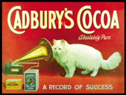 Original Metal Sign Co. Cadbury's Cocoa Metal Wall Sign