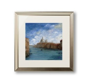 Home Furnishings Arthouse Framed Print Wall Picture Venice 80x80cm 002166