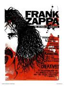 Frank Zappa Poster Art Print by Simon Walker