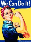 Original Metal Sign Co. We Can Do It! Metal Wall Sign