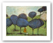 Sniffing The Lilac by Sam Toft Art Print Poster