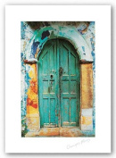 Arched Doorway (White Border) by George Meis Art Print Poster