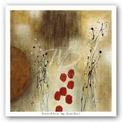 Autumn Moon I by Heather McAlpine Art Print Poster