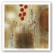 Autumn Moon II by Heather McAlpine Art Print Poster