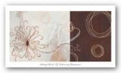 Balancing Blossoms I by Arleigh Wood Art Print Poster
